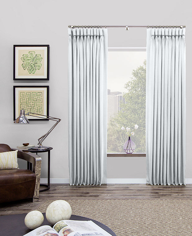 Goblet Pleat Drapes And Curtains The Shade Store